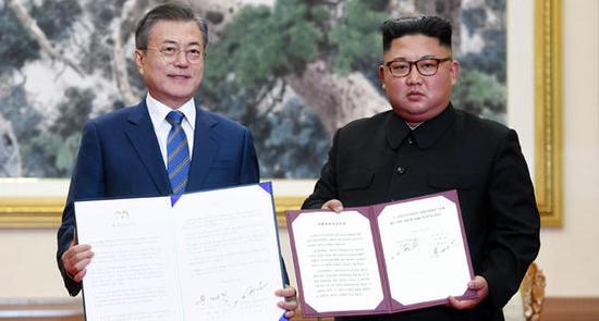 文在寅:一定要履行《9月平壤共同宣言》达成的协议
