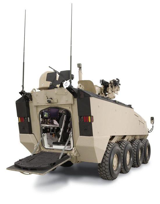 ▲LAV-700装甲车的指挥车型