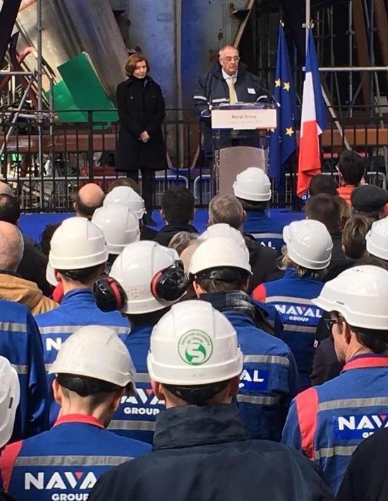 法国新航母黎塞留号昨日开工?不存在纯属愚人节玩笑
