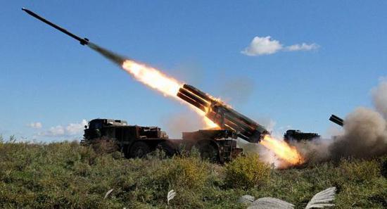 俄罗斯炮兵有丰富的弹药储备