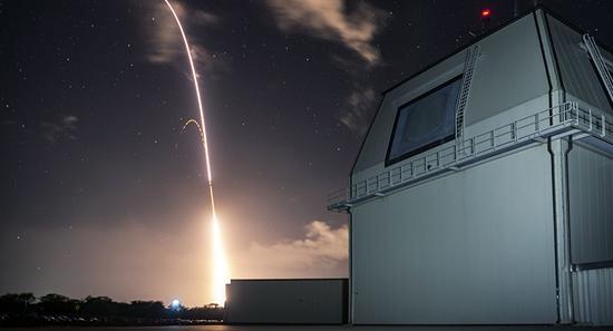陆基宙斯盾系统进行测试