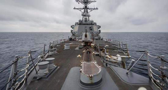 俄专家:美军近期在台海活动频繁 或为转移疫情视线