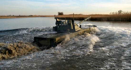 """俄""""章鱼""""-SDM1两栖轻型坦克将在黑海进行射击试验"""