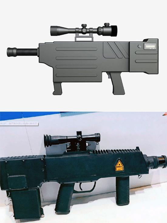 ZKZM-500激光步枪