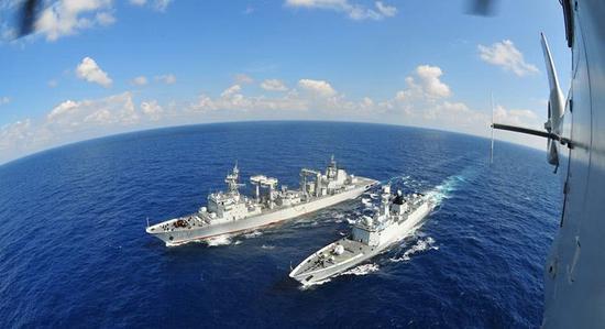 回顾中国海军亚丁湾护航10周年 054a舰成绝对主力(图)