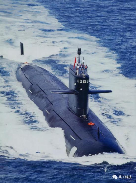 """中国新型核潜艇增加垂发系统 已超越美军""""洛杉矶""""级"""