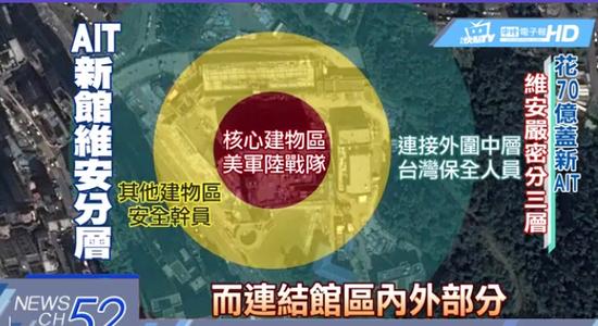 台媒:美军陆战队或将进驻美国在台协会台北办事处南昌江岳会所