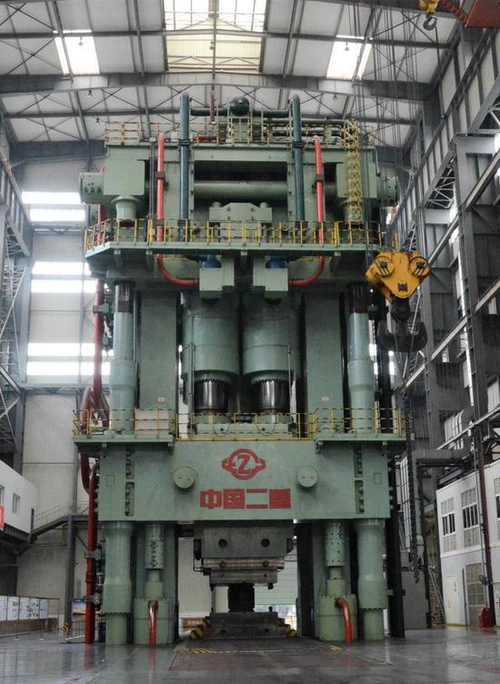 中国八万吨模锻压机