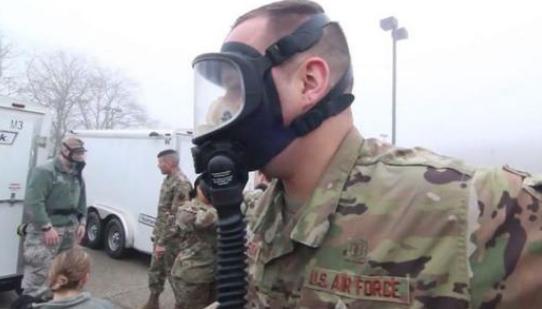 美国空军成疫情重灾区 已有数百名飞行员被感染