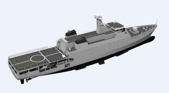 还不如买中国056:巴基斯坦新护卫舰服役仅有3门炮