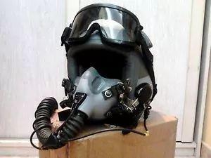 HGU-55/P高跳低开头盔,连接MBU-12氧气面罩