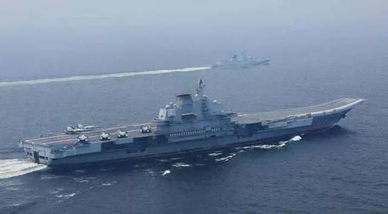 辽宁号航母编队再次南下时机不寻常