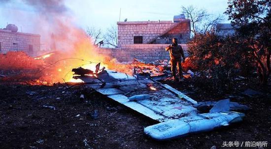 苏-25战机被击落