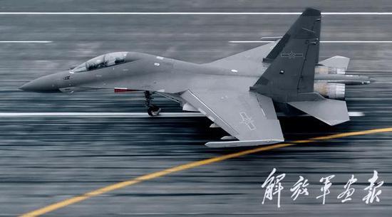 图片:西部战区空军某旅的歼-16,解放军画报 图片