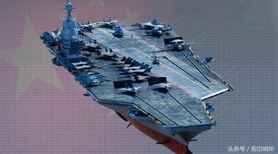 中国核动力航母CG图