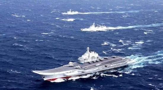 辽宁舰编队或在台湾周边海域军演 展示封锁海峡能力