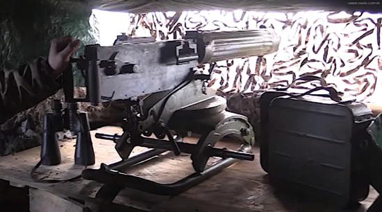 <b>美媒:乌克兰仍在用100多年前设计的机枪与俄作战</b>
