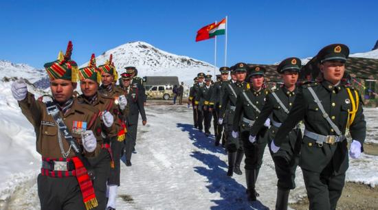 印媒:中国在中印边境新建13个军事基地 数量翻倍