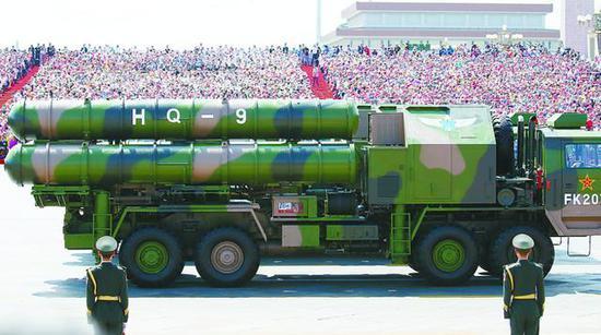 (通过对比基本上排除了该导弹属于红旗-9或S-300/400的可能性)