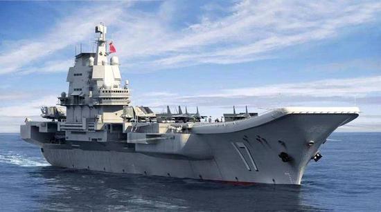 国产航母滑跃甲板角度为12度 为何比辽宁舰少两度?