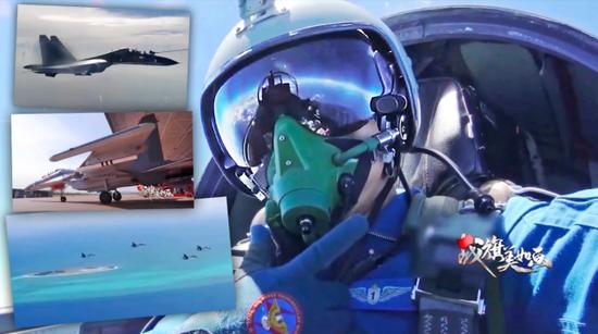 美媒:中国苏30南海飞行长达10小时 饮料和小吃抢镜