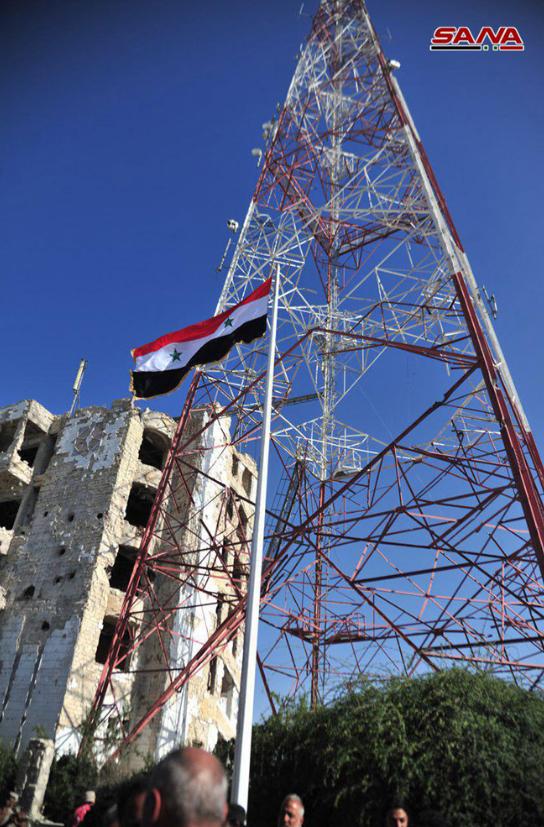 7年前叙利亚内战爆发地 今天被叙政府军收复(图)