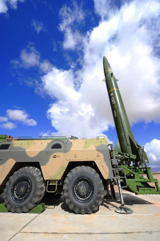 我军东风11导弹可携特种弹头 部署东南沿海意义非凡