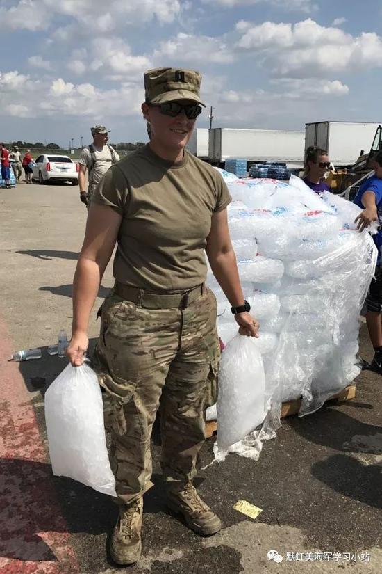 从飓风救灾看美军联合作战能力:260个单位无缝拼接