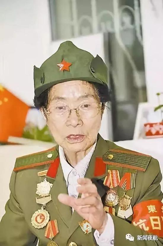"""东北抗联最小女兵逝世 她推动""""抗战14年""""写入教科书"""