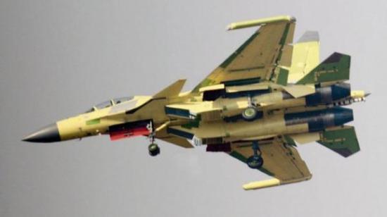 简氏:中国正试飞歼15D电子战机 似美军EA18G咆哮者双嫡