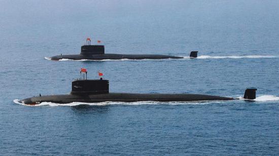 我新型核潜艇首次展示发射巡航导弹 射程高达1500公里