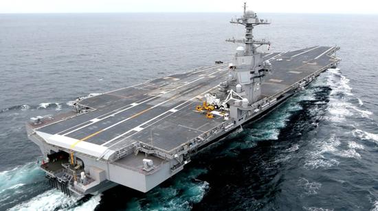 美媒:美福特航母或只造4艘 新航
