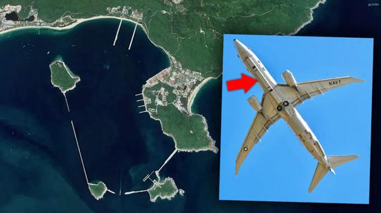 美媒:美军机飞近海南 刺探中国海军潜艇及航母基地