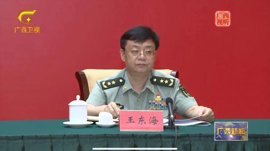 新任南部战区陆军政委就位 曾约谈28个省军区纪委领导
