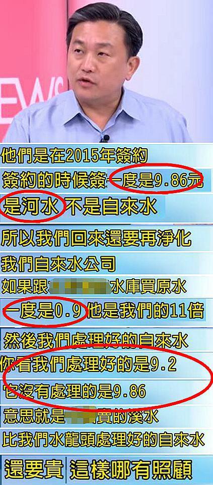 民进党官员骂大陆水贵 金门晒蔡当局数据完美打脸