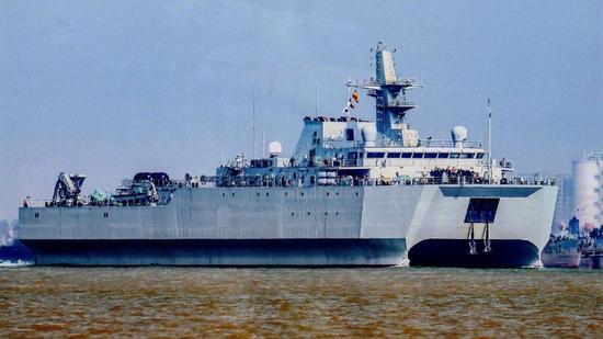 央视曝光中国海军新型水声监测船 可跟踪探测美潜艇卡鲁亚克声望怎么冲