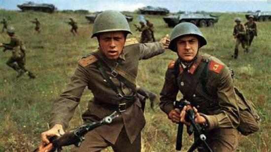 俄国军队当时部署在很多东欧国家中