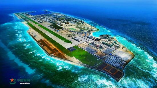 中国南海岛礁实现起降轰6k 但无法与美关岛基地匹敌