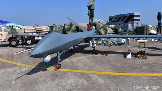 中国军用无人机