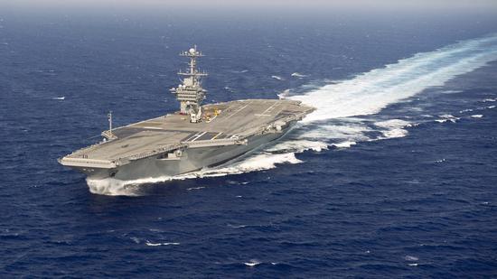美军派航母赴中东 美俄是否会在叙利亚硬碰硬