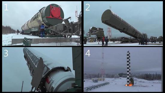 俄200吨级核弹公路机动画面首曝 一枚可摧毁英国2次