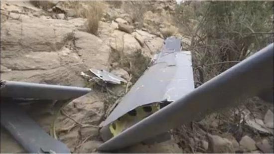 沙特军彩虹4无人机战场被击落 或系中国防空导弹所为