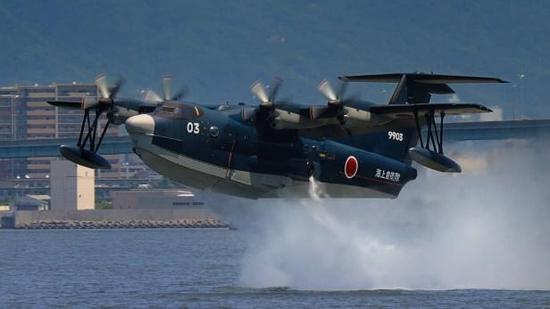 日本欲突破军售限制 水上飞机或将