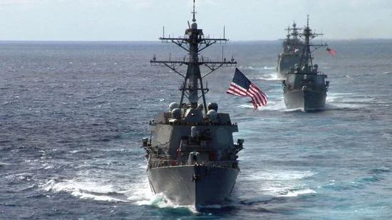 资料图:美国海军战舰