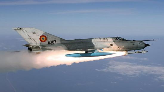 米格21得到了美国飞行员很高的赞誉
