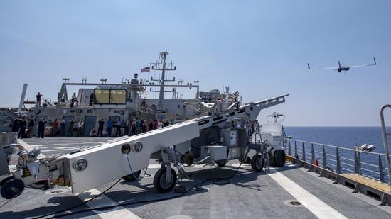 """美军3款无人装备海上测试 这一型被称""""革命性武器"""""""