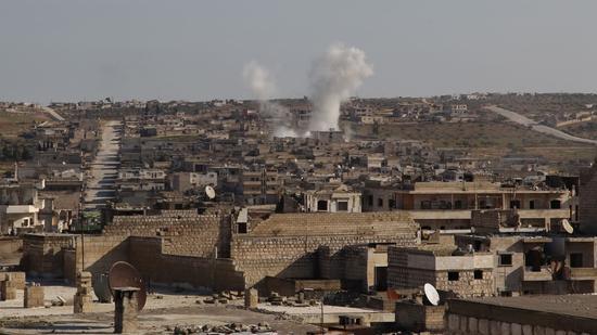 叙利亚亲政府武装与极端组织爆发激战 至少39人丧生