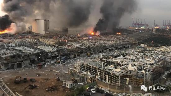 黎巴嫩爆炸威力有多大 相当于美最低级别核弹的1/2