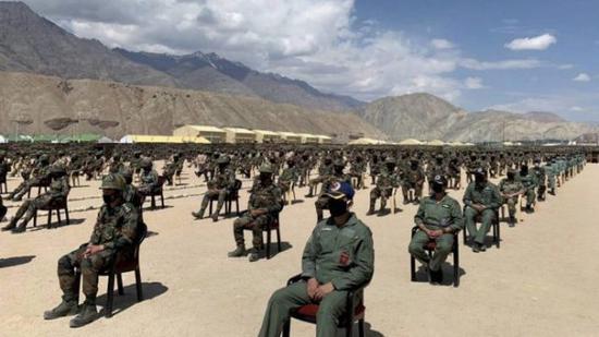 中印边境印军接种疫苗 但不包括与中方对峙前线士兵