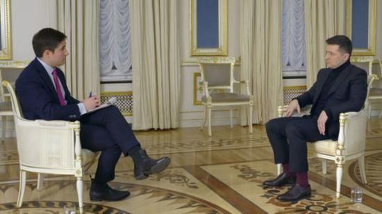 乌克兰总统坚称中国不是威胁 美媒:他要和美决裂?